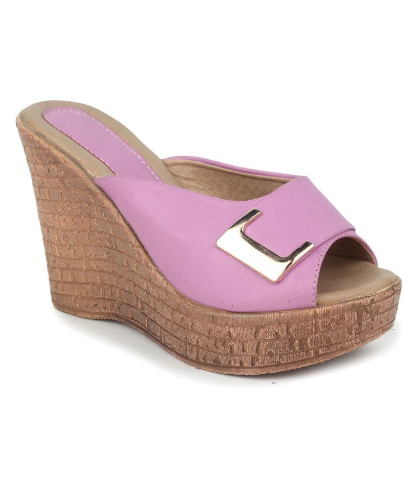Tic Tac Toe Purple Heels
