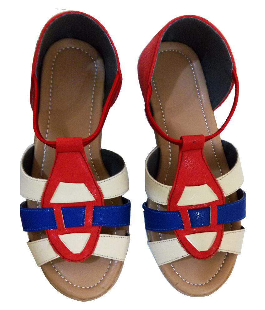 Fashionitz Multi Color Flats