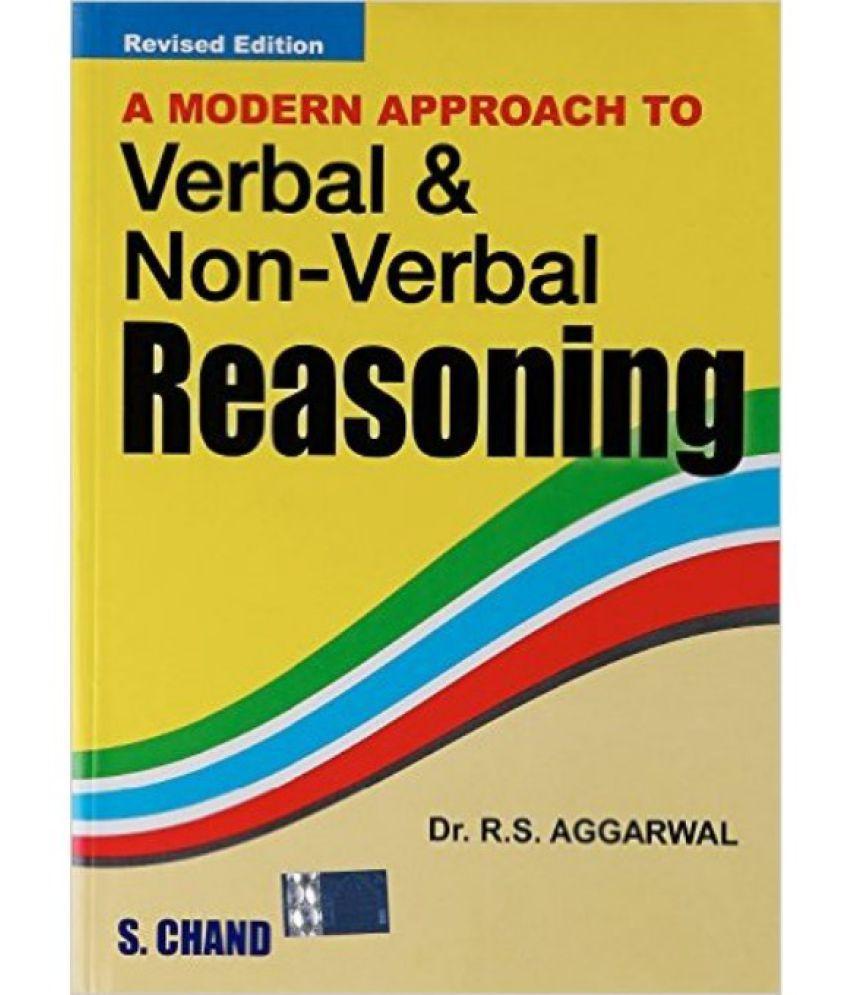 A Modern Approach To Verbal & Non-Verbal Reasoning Revised Edition price comparison at Flipkart, Amazon, Crossword, Uread, Bookadda, Landmark, Homeshop18