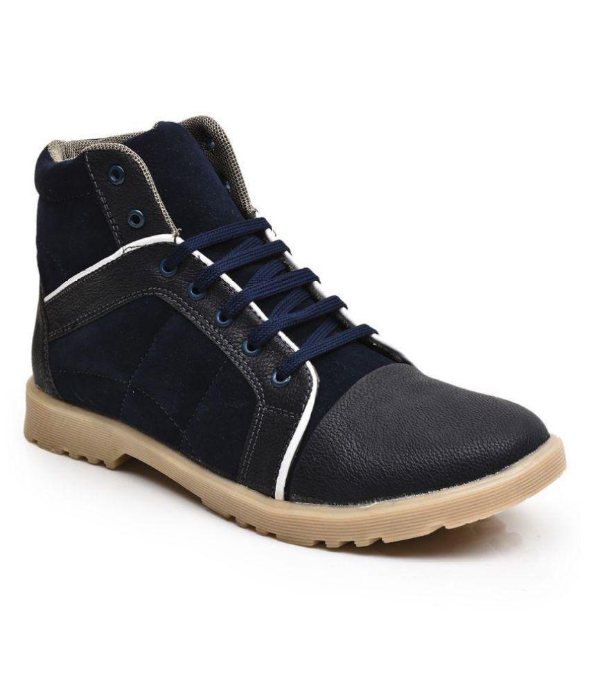 Rozo Blue Casual Boot
