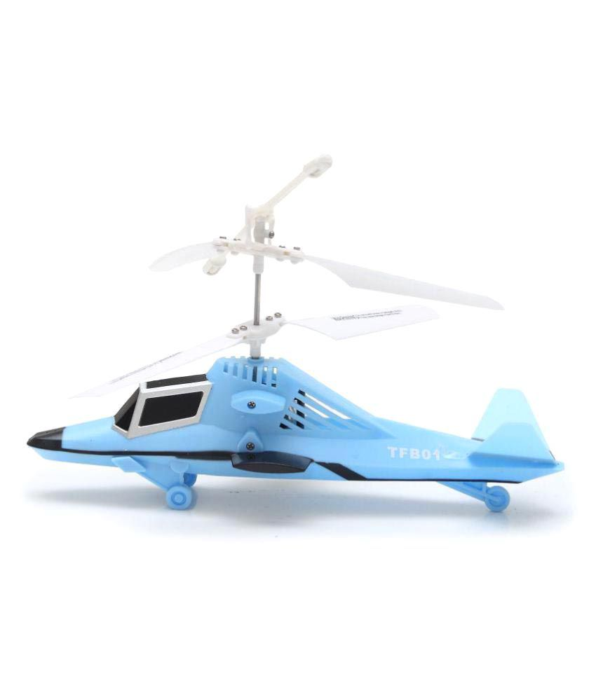 The Flyer's Bay Powerful Radio Controlled Helicopter - Power Version 2.0 (Blue)
