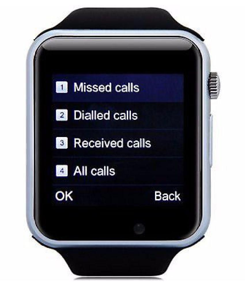 Wearable Smartwatches Online At: Life Like A1 Bluetooth With Sim & Tf Card Slot Smart