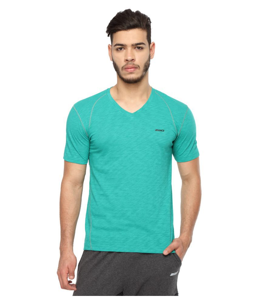 2go Green V-Neck T-Shirt
