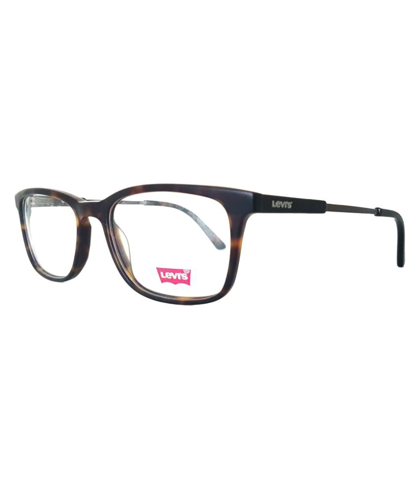 b4ebfa4a2917 Levi's Brown Wayfarer Spectacle Frame LS-60084-C01/51 - Buy Levi's Brown  Wayfarer Spectacle Frame LS-60084-C01/51 Online at Low Price - Snapdeal