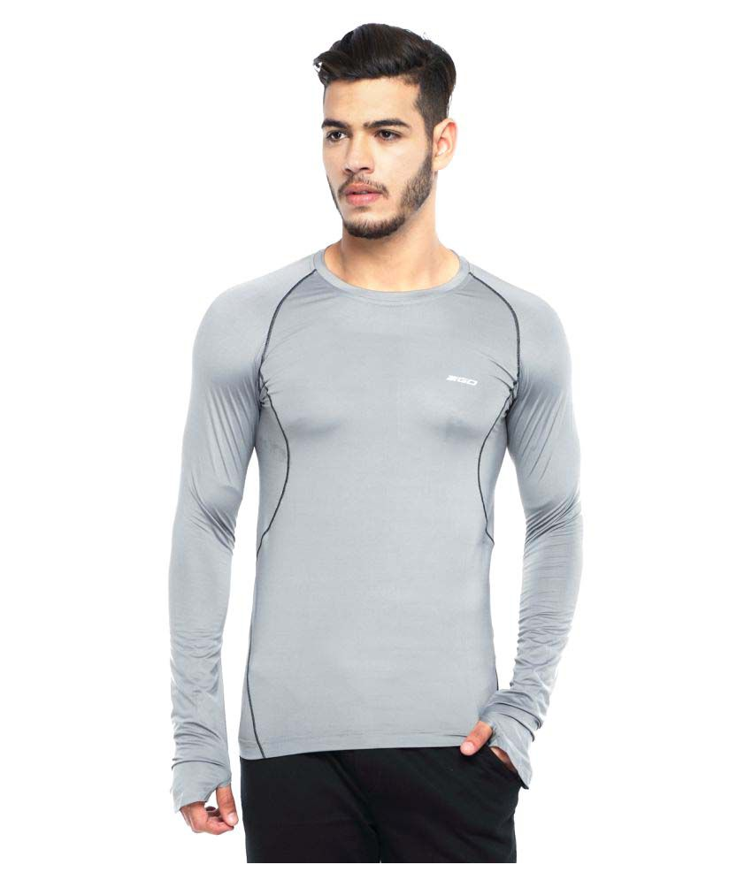 2go Grey Round T-Shirt