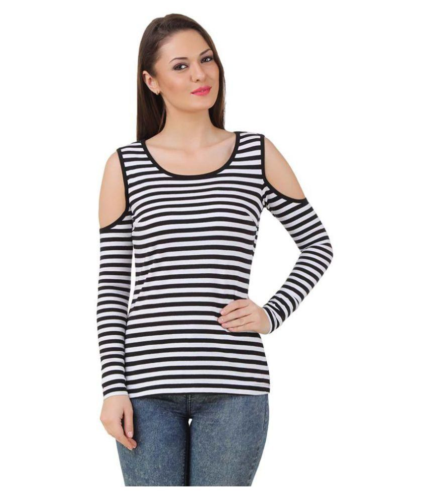 e50acc7ba21 Urbane Woman Poly Crepe Crop Tops - Buy Urbane Woman Poly Crepe Crop Tops  Online at Best Prices in India on Snapdeal