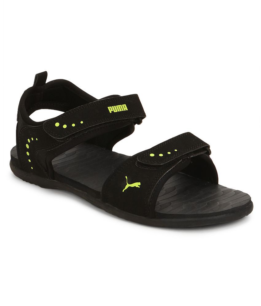 Puma Black Floater Sandals - Buy Puma Black Floater Sandals Online at Best  Prices in India on Snapdeal a6c73bf63bd7