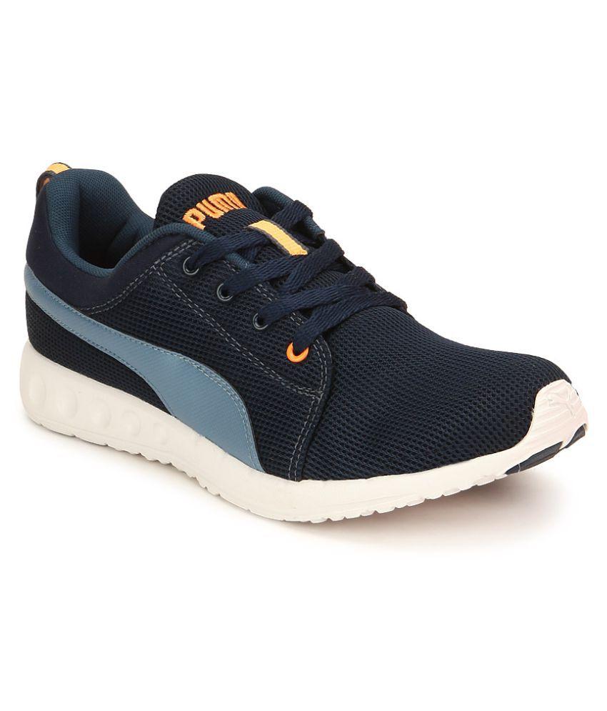 puma carson runner dp blue running shoes buy puma carson. Black Bedroom Furniture Sets. Home Design Ideas