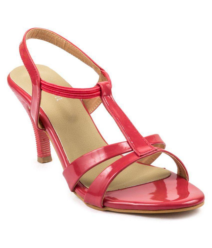 Wellworth Pink Stiletto Heels