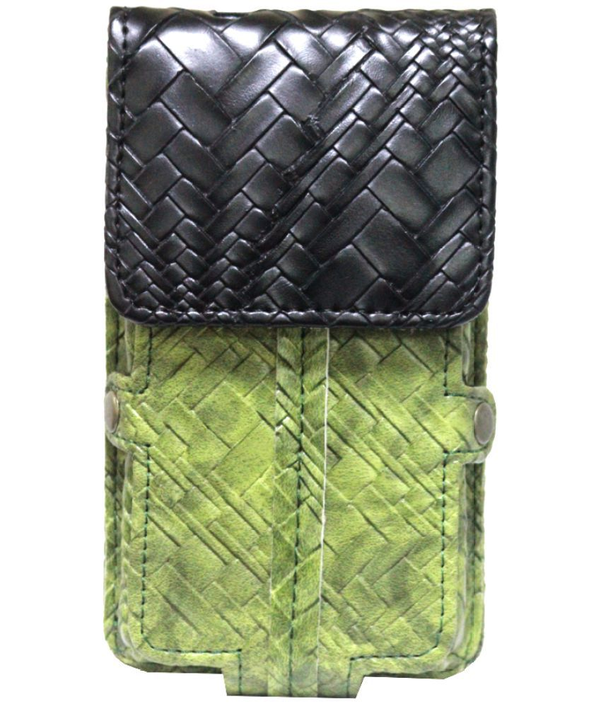 Lava X11 4G Holster Cover by Jojo - Green