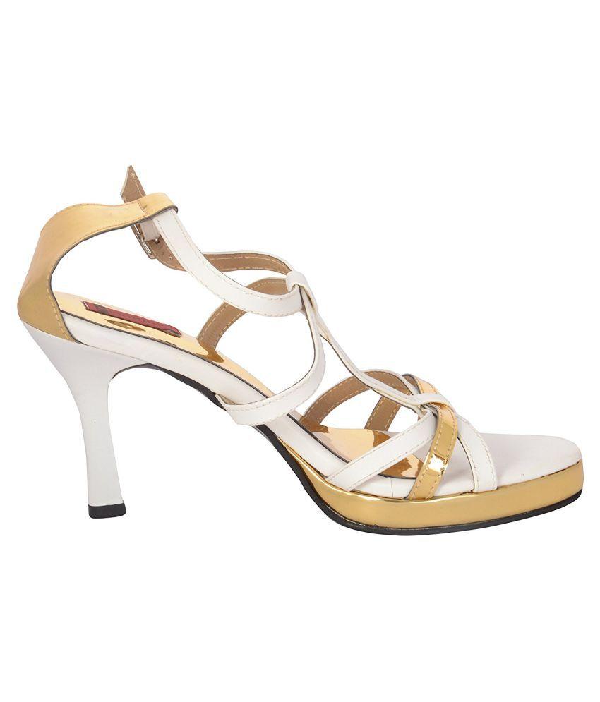 Figure's White Heels
