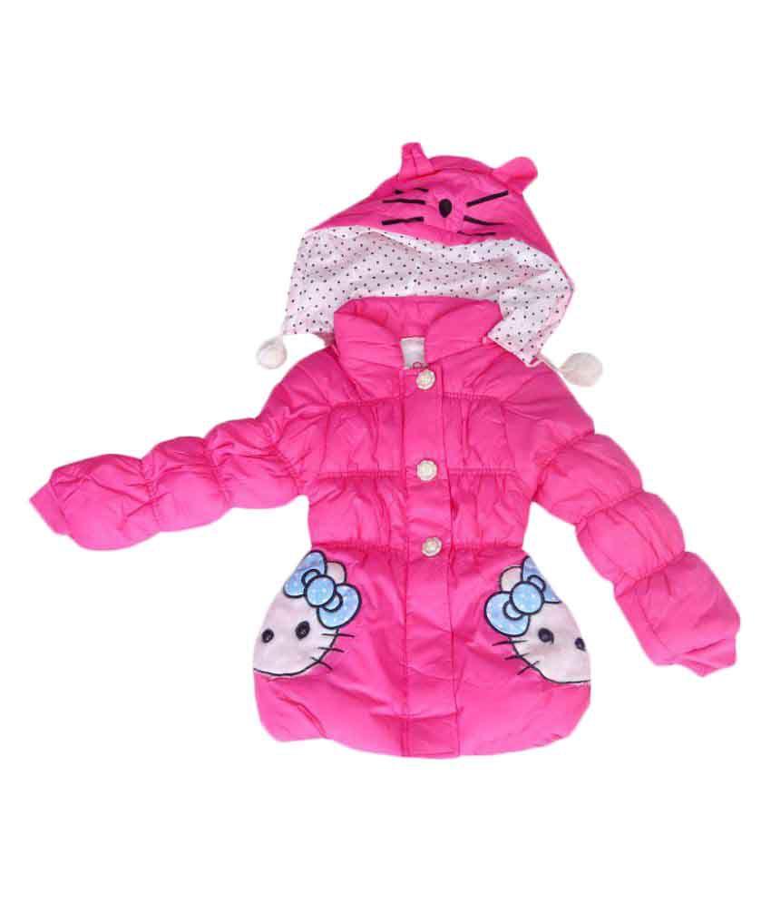Ishika Garments Pink Light Weight Jacket
