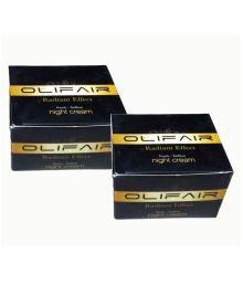 Olifair Pearls Saffron Night Cream Night Cream 400 Ml Pack Of 2