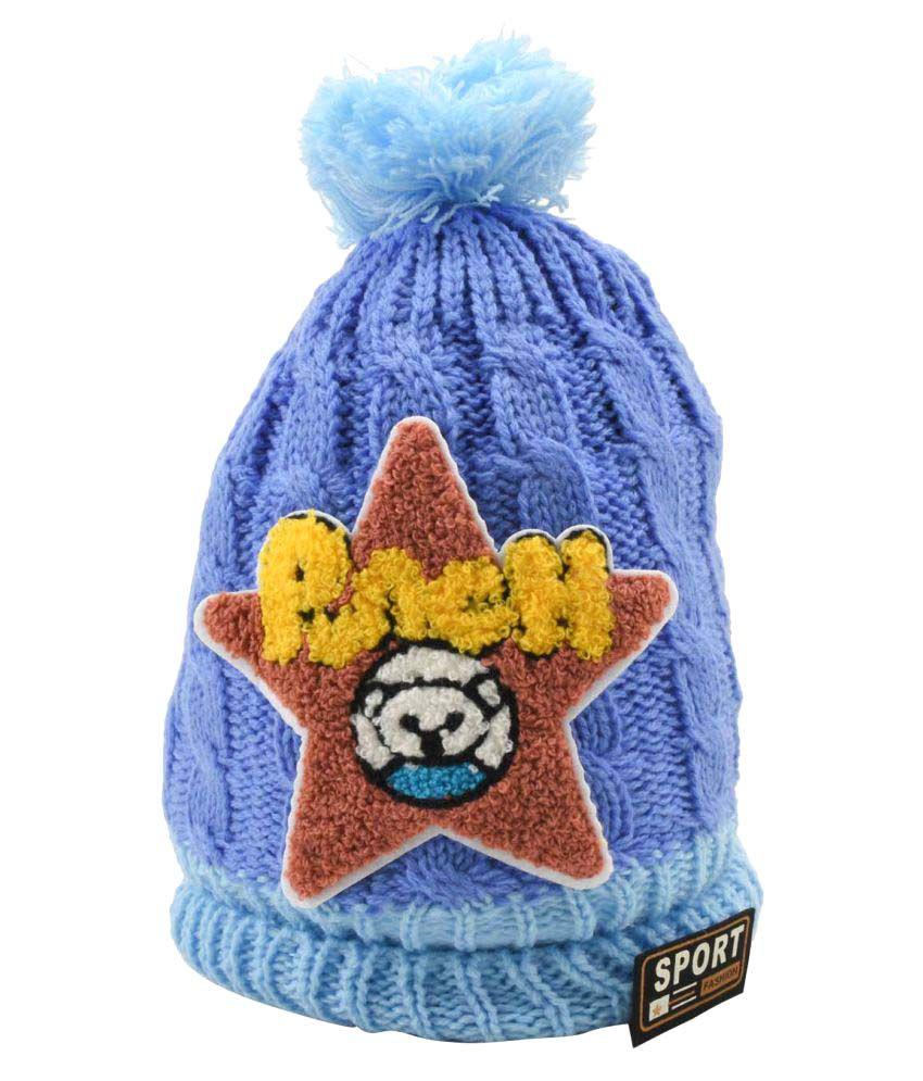 Tiekart Blue Kids Warm Caps