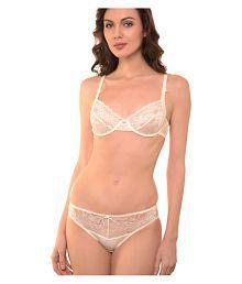 344092eb02fd2 Off White Bra Panty Sets  Buy Off White Bra Panty Sets for Women ...