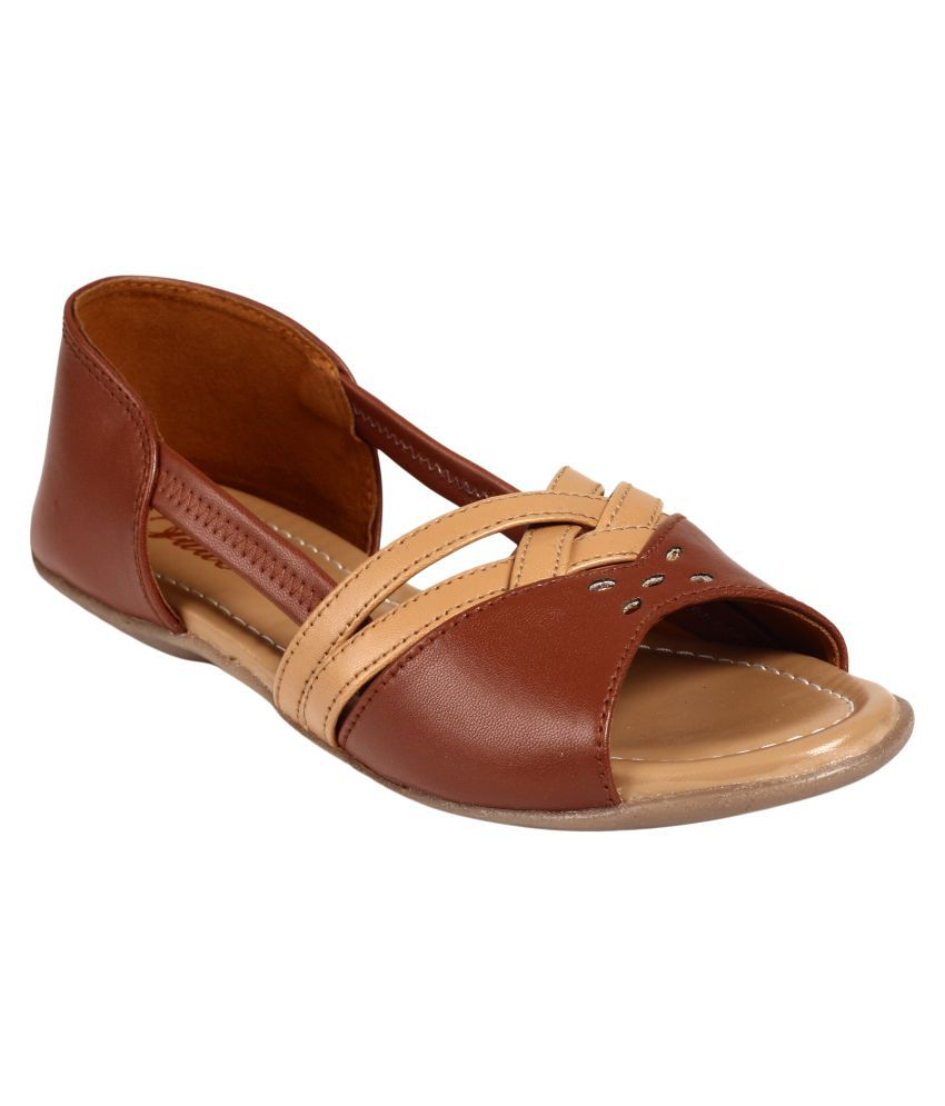Jade Brown Flats