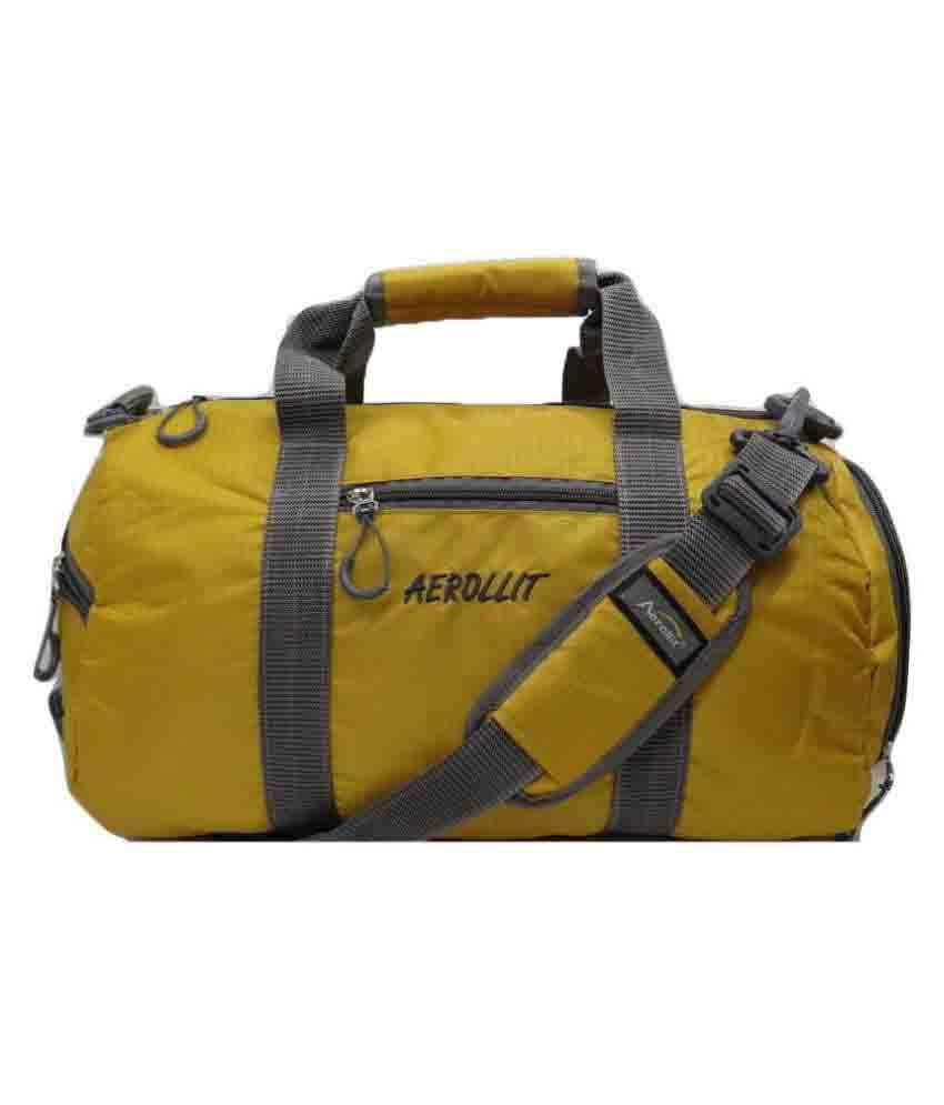 Aerollit Yellow Gym Bag