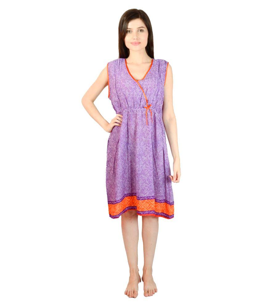 Valentine Cotton Nighty & Night Gowns