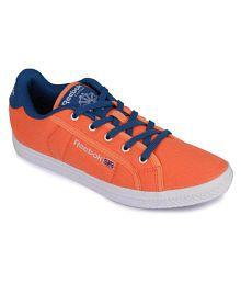 Reebok Orange Sneakers