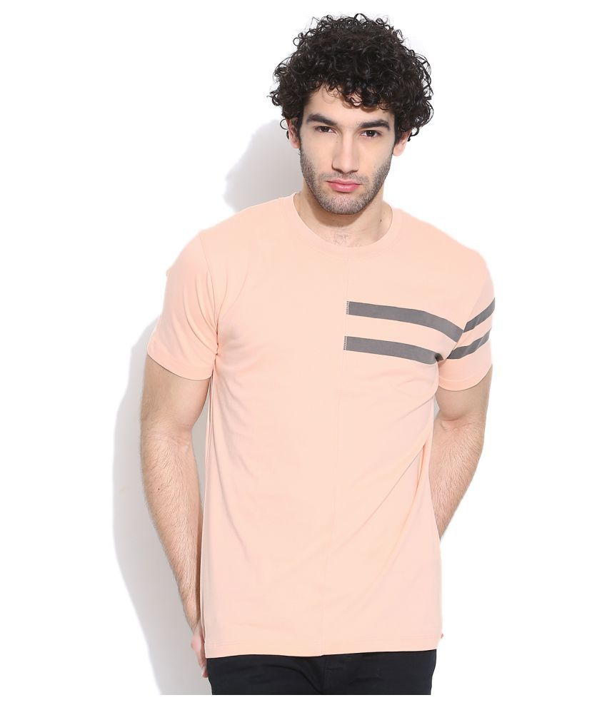 Cult Fiction Pink Round T-Shirt