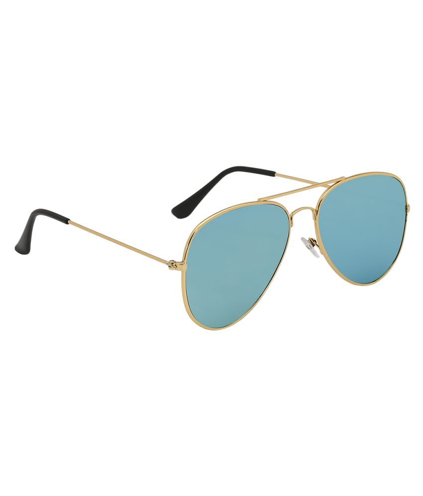 Olvin Green Aviator Sunglasses ( OL306-07 )