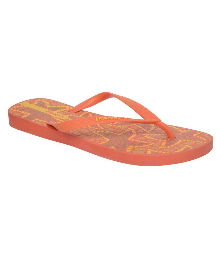 Ipanema Red Flip Flops