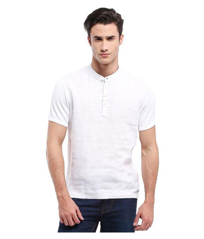 Parx White Round T-Shirt