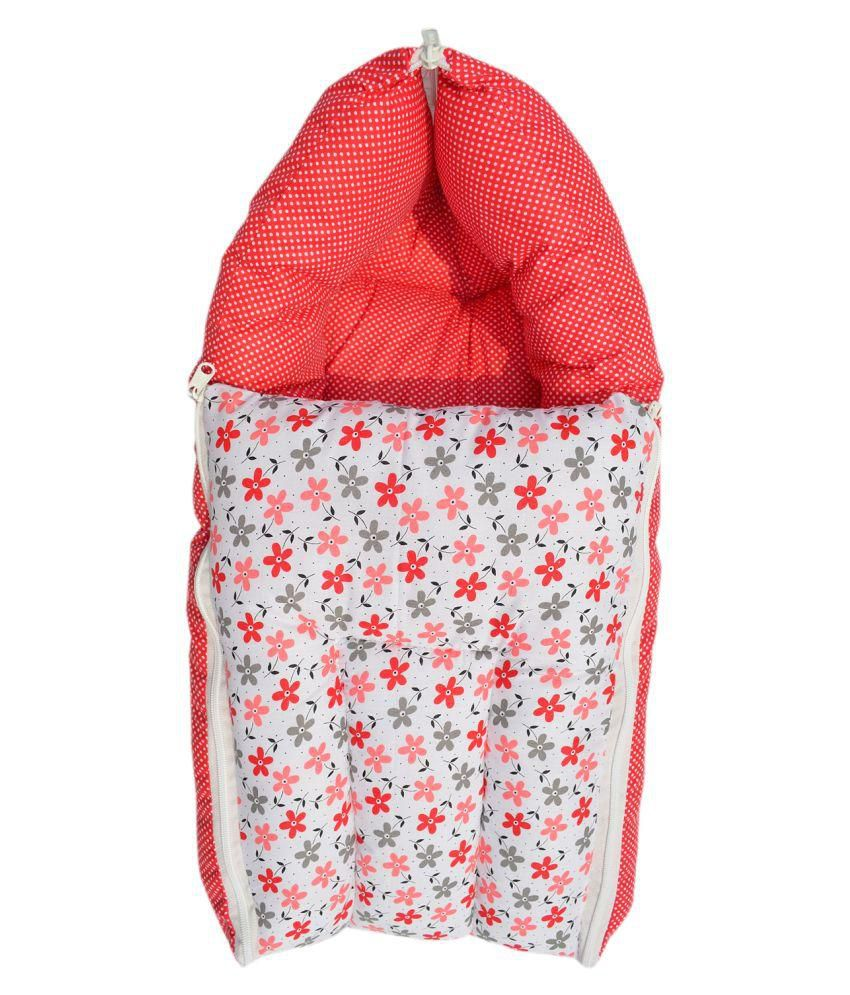 Younique 3 in 1 Baby Bed Carrier/Sleeping Bag - Pleasant Red