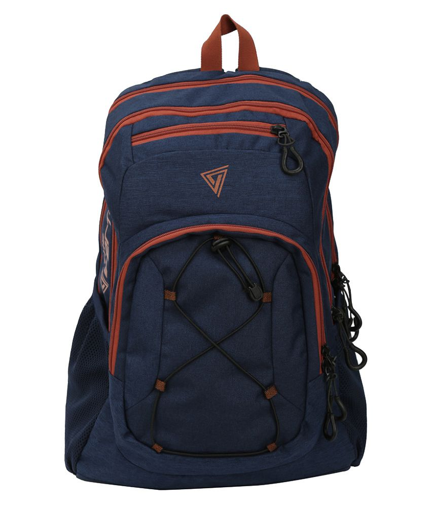 b02a4ddfa The Vertical Navy Backpack available at SnapDeal for Rs.1163