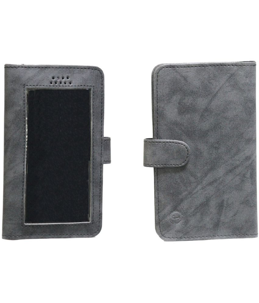 Lenovo A7000 Holster Cover by Jojo - Grey