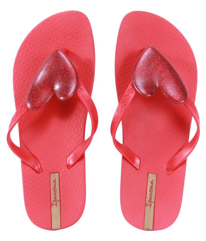 Ipanema Pink Slippers