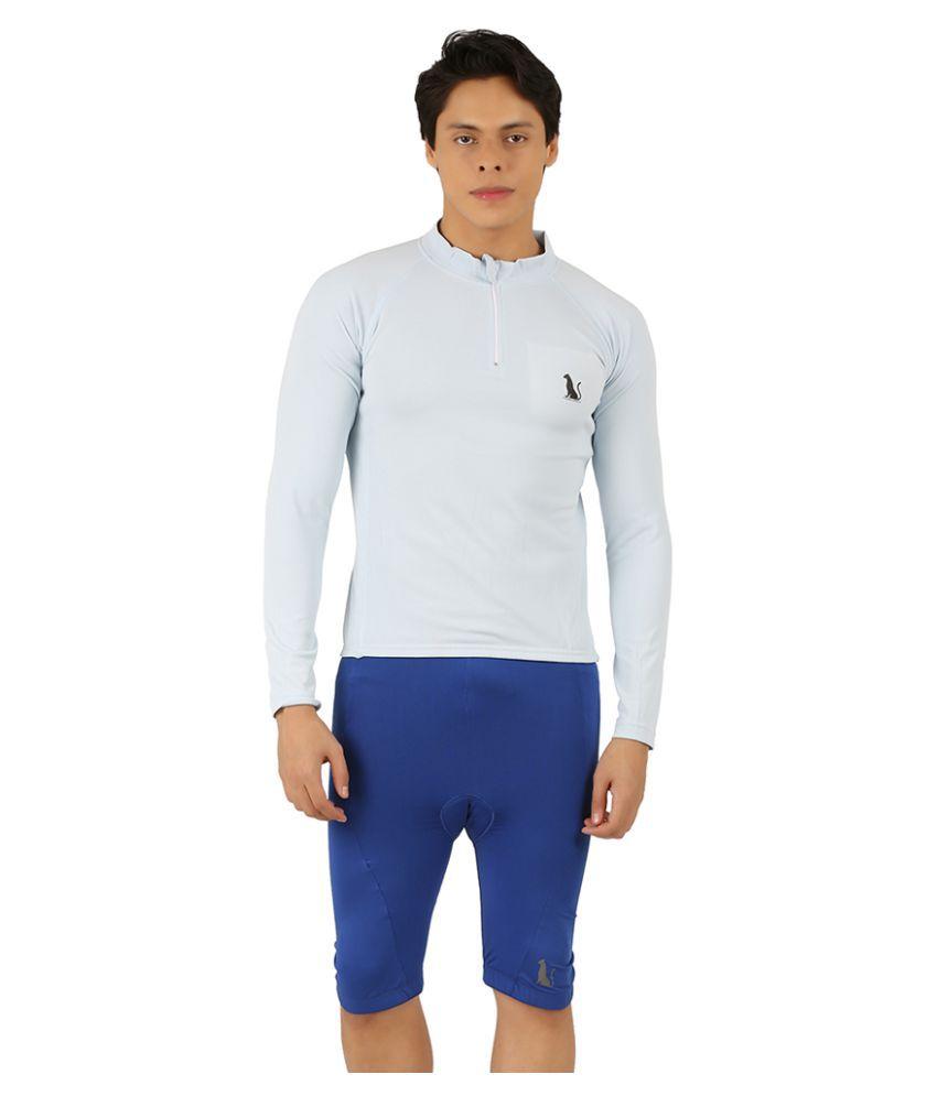 Leopardskyn Sea Blue T-Shirts