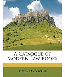 A Cataogue of Modern Law Books