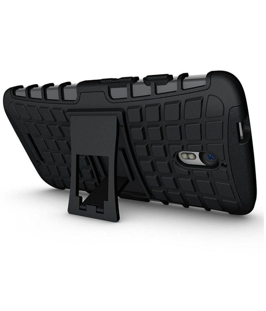 Asus Zenfone 3 Max Case With Stand by Gadget hub - Black