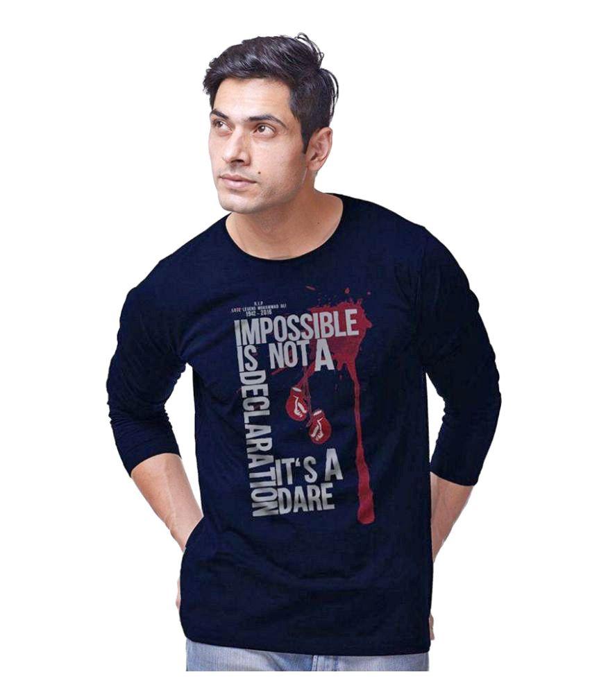 Eposch Blue Round T-Shirt