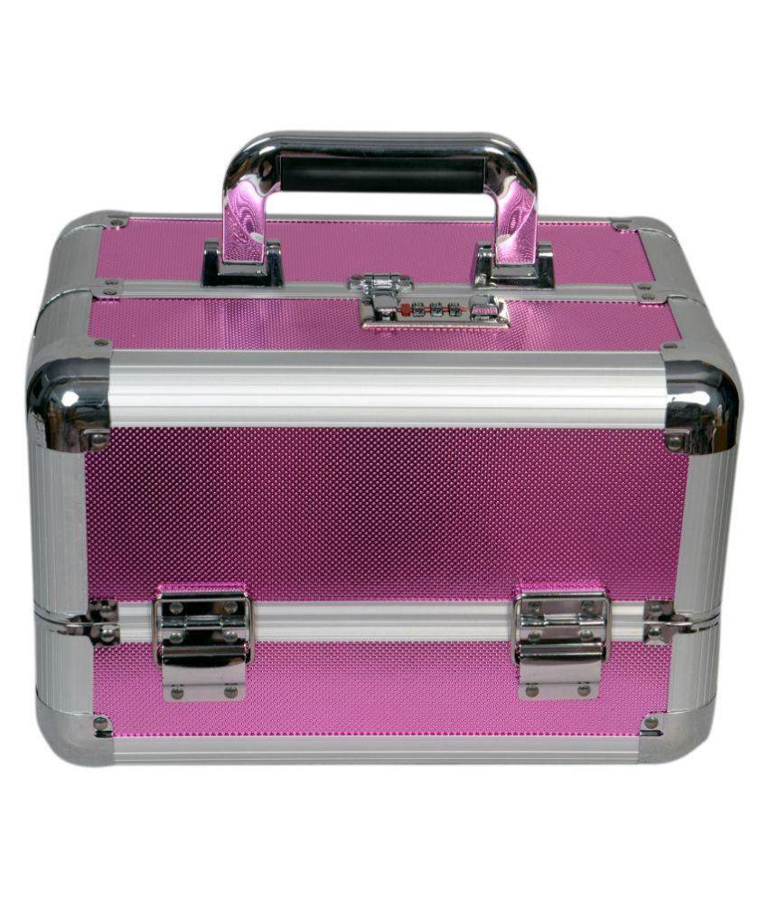 Bonanza Heavy Pink Makeup Jewelry Box