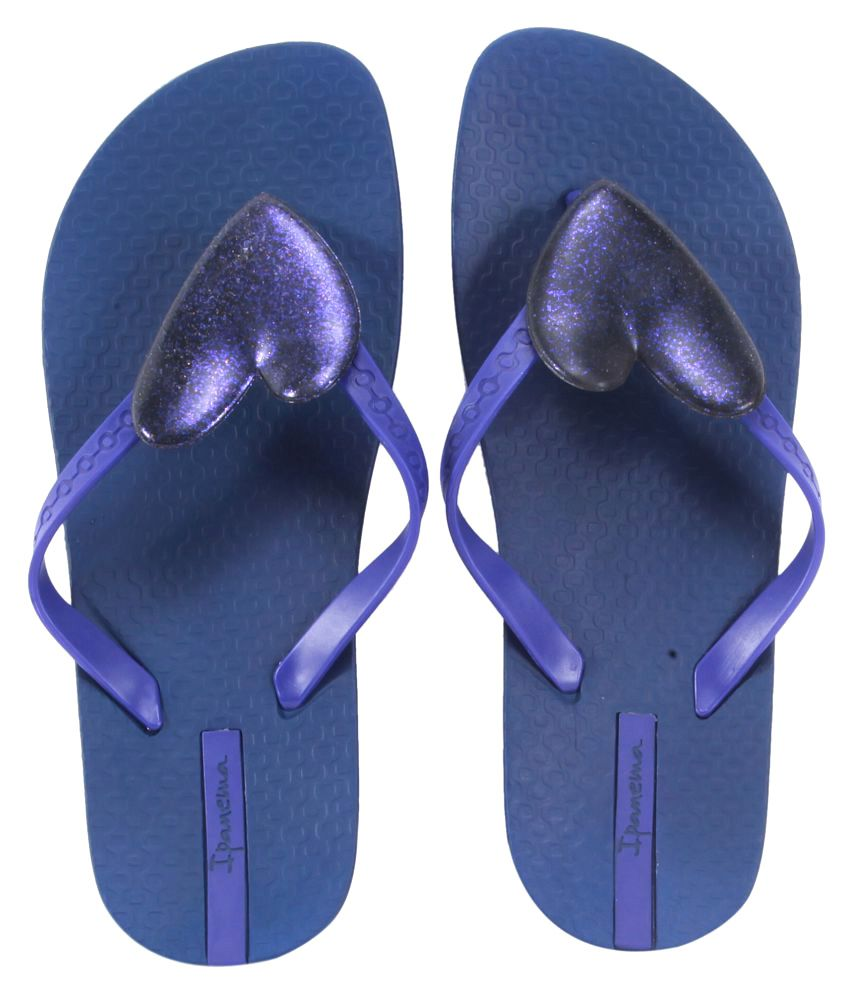 Ipanema Blue Slippers