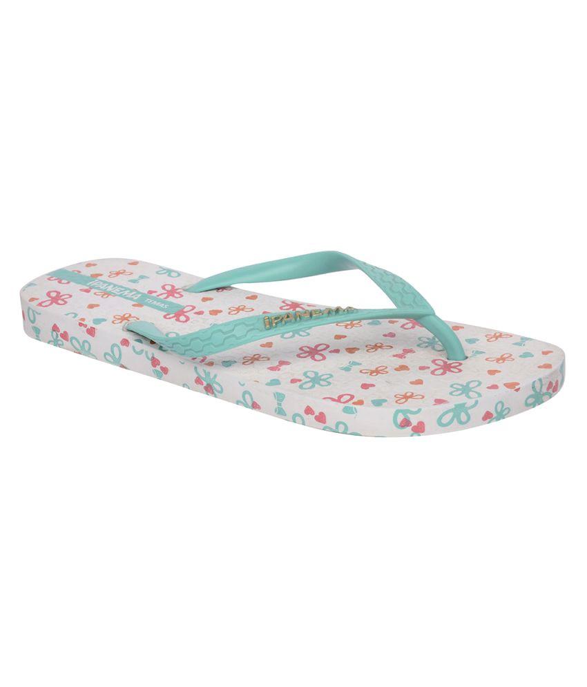Ipanema Green Slippers