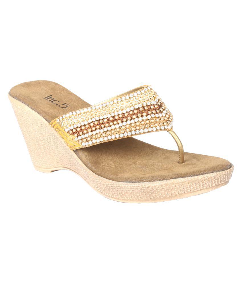 Inc.5 Gold Heels