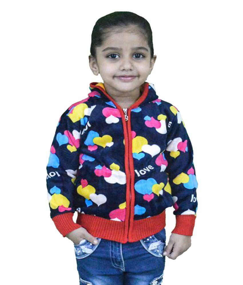 Winter Fuel Multicolour Fleece Sweatshirt