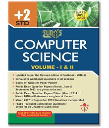 12th Standard Guide Computer Science English Medium Tamilnadu State Board Syllabus