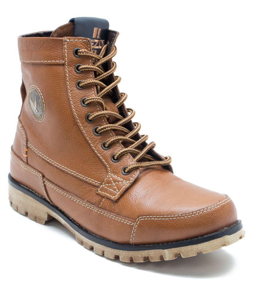 Yezdi Brown Casual Boot