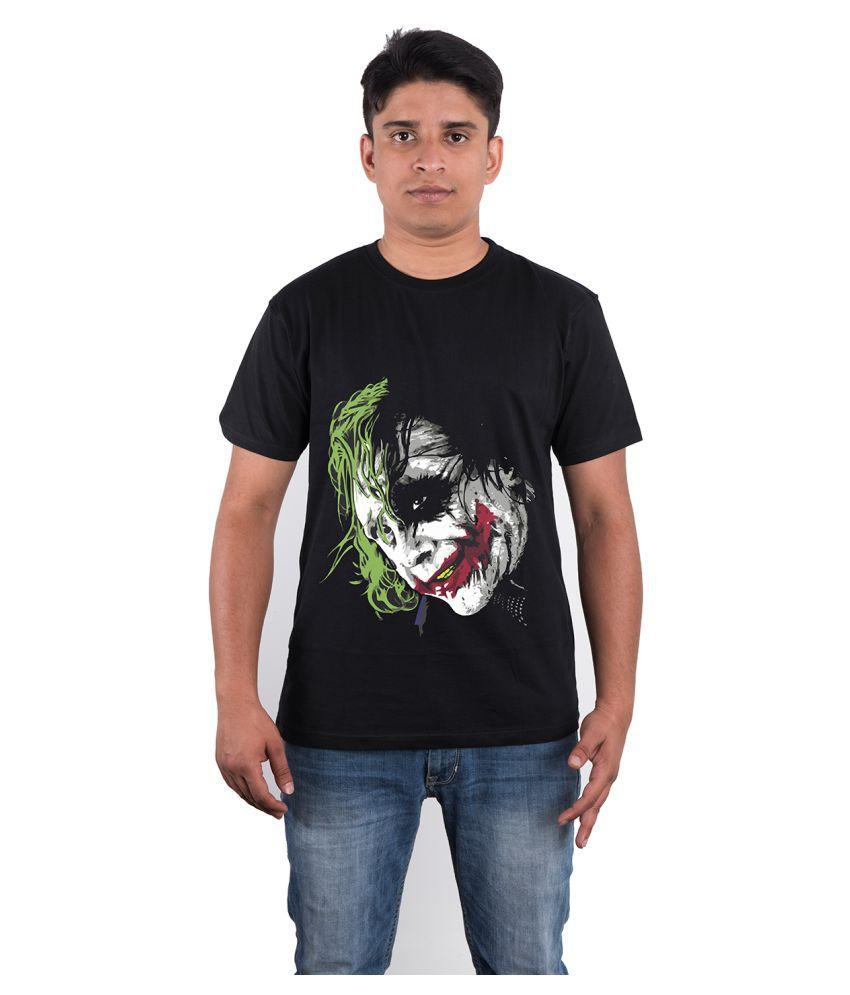 Tee Cultr Black Round T-Shirt