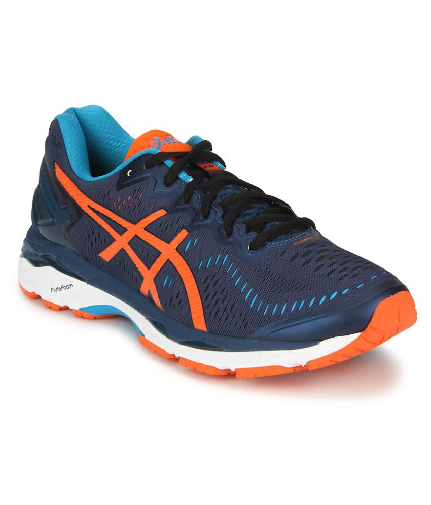 premium selection a2b3b 34c3e Asics Gel-Kayano 23 Blue Running Shoes - Buy Asics Gel ...