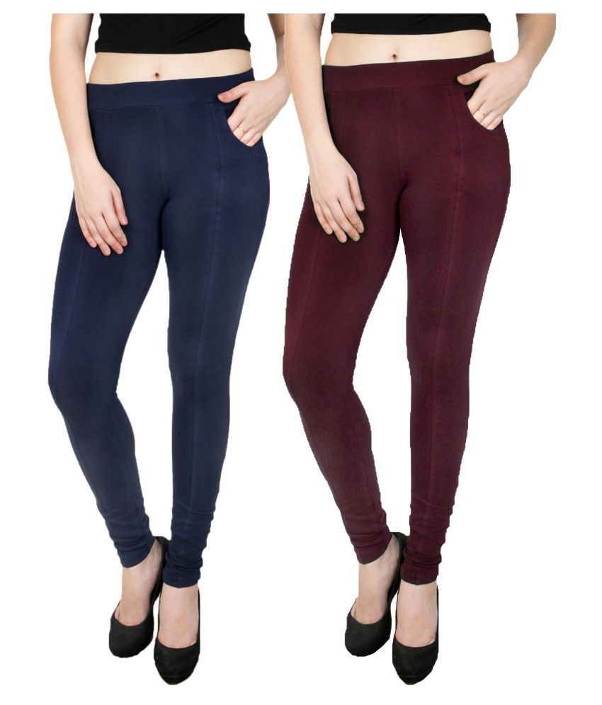 Faded Finch Cotton Lycra Jeggings