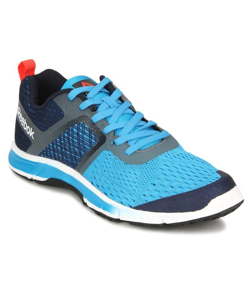 Reebok Blue Running Shoes