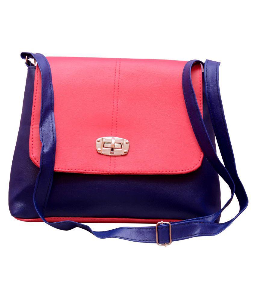 Zevar Green Multi Non Leather Sling Bag