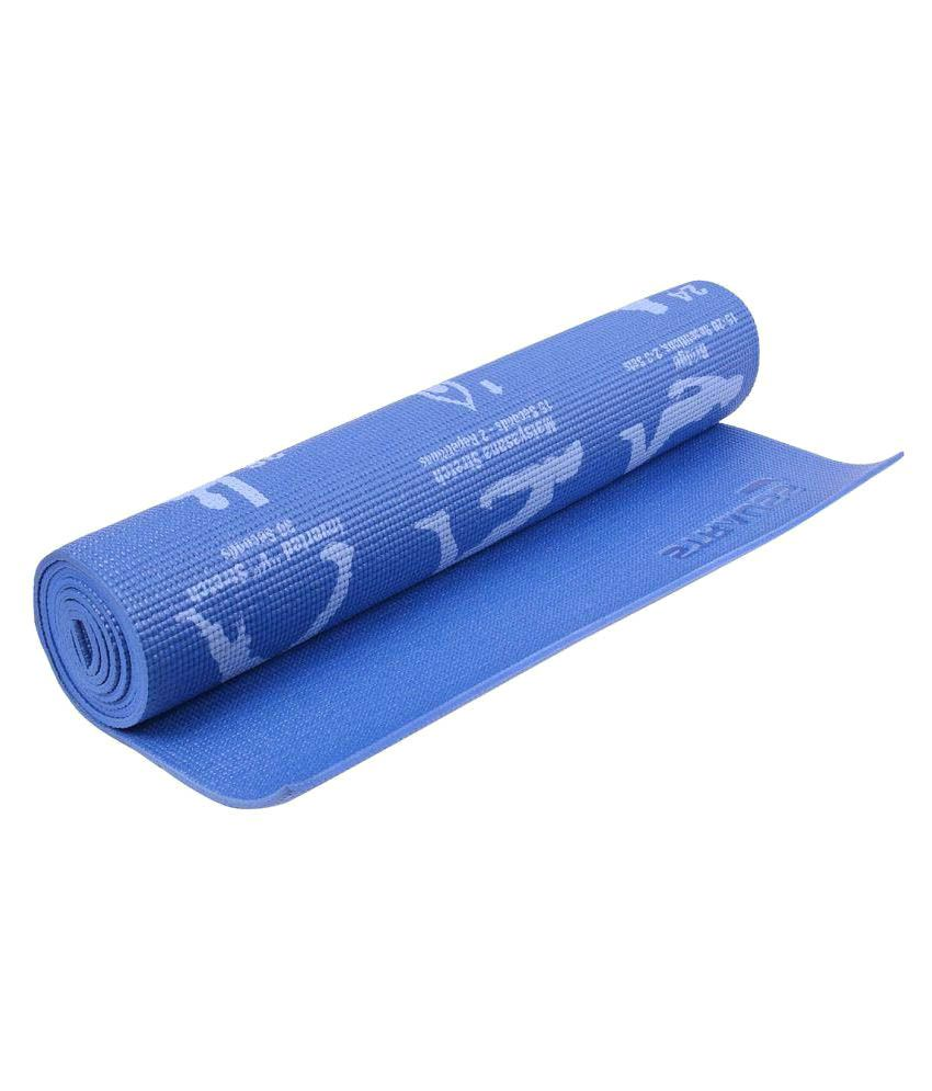 Strauss Yogasana Yoga Exercise Mat 6MM with Cover