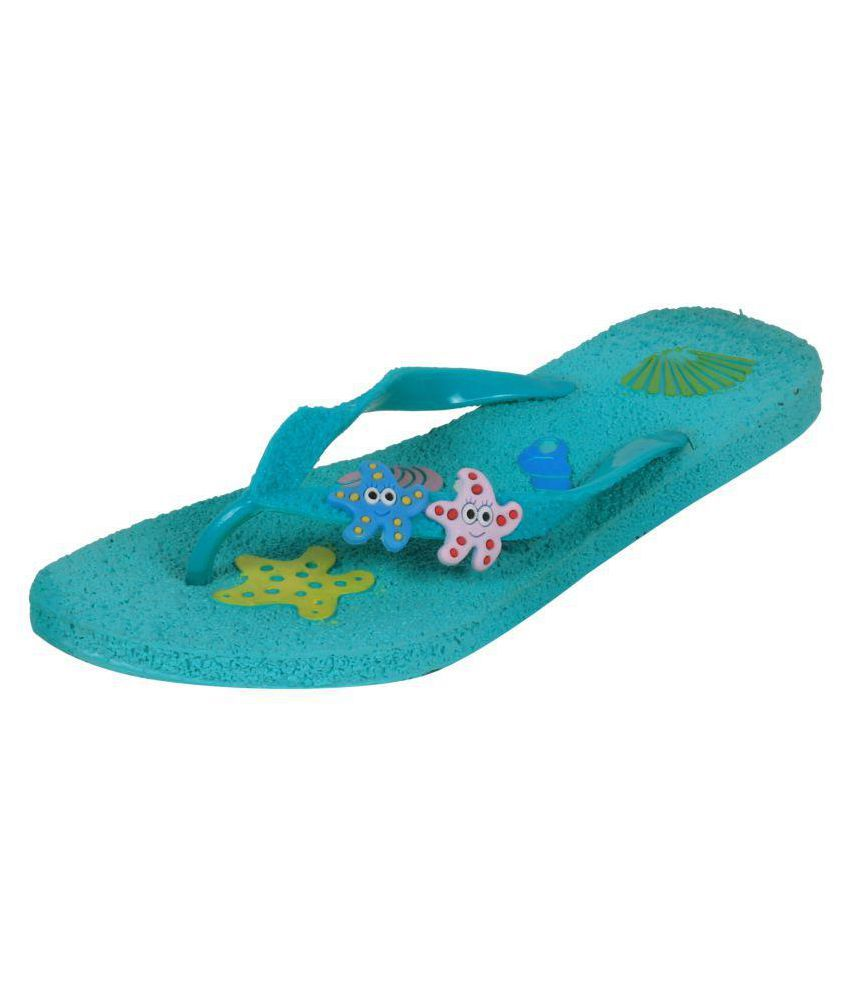 Alkawal Green Slippers