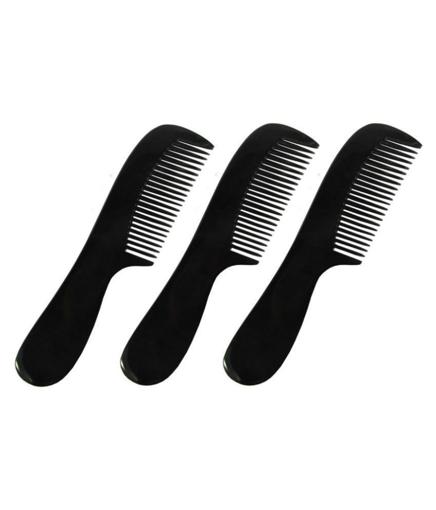 Prakrita Fine Tooth Comb By BuffaloHorn Styler Pack of 3